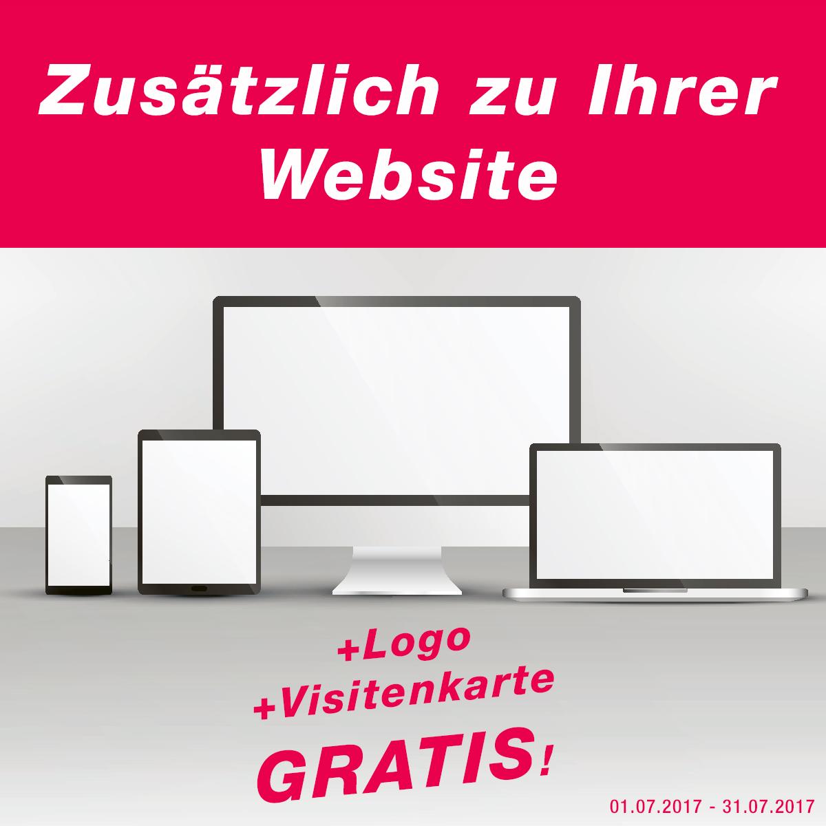 Gratis Logo, gratis Vistitenkarten