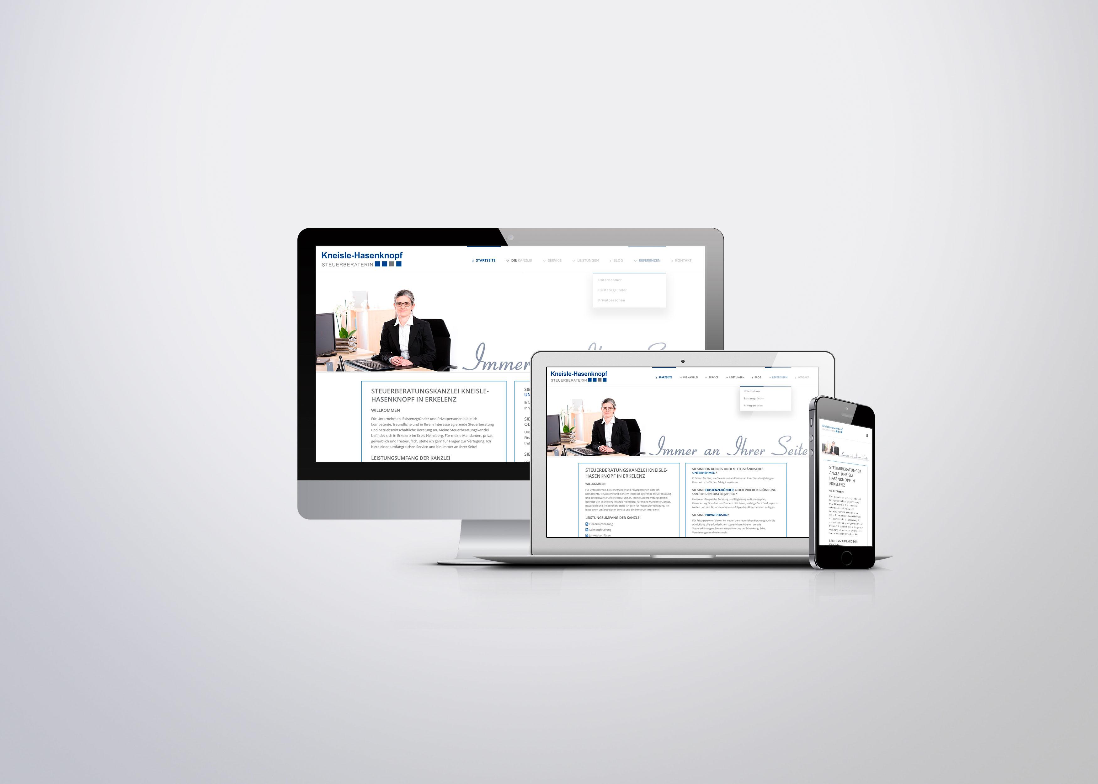 Webseite/CMS Kneisle-Hasenknopf