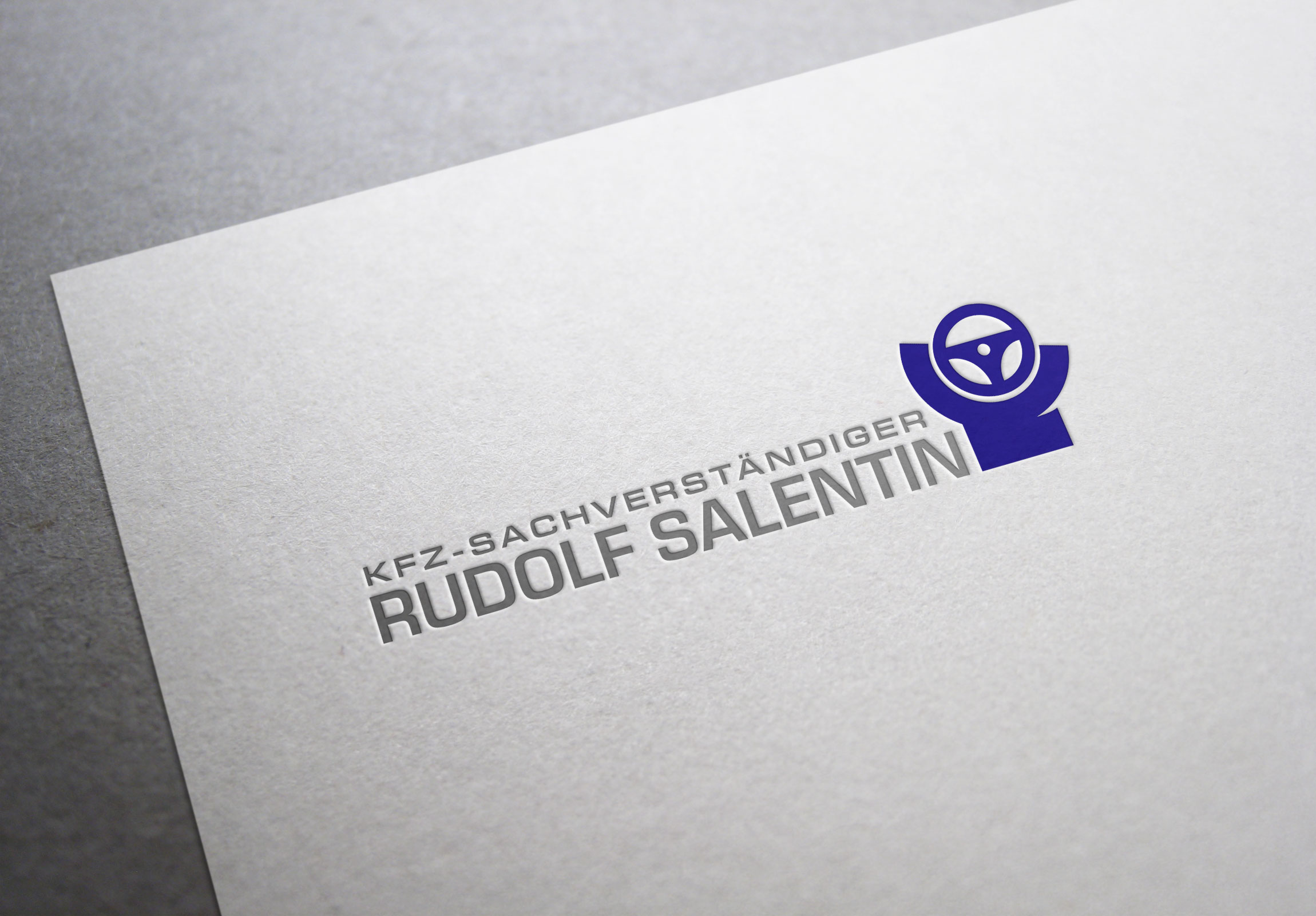 Logodesign Rudolf Salantin