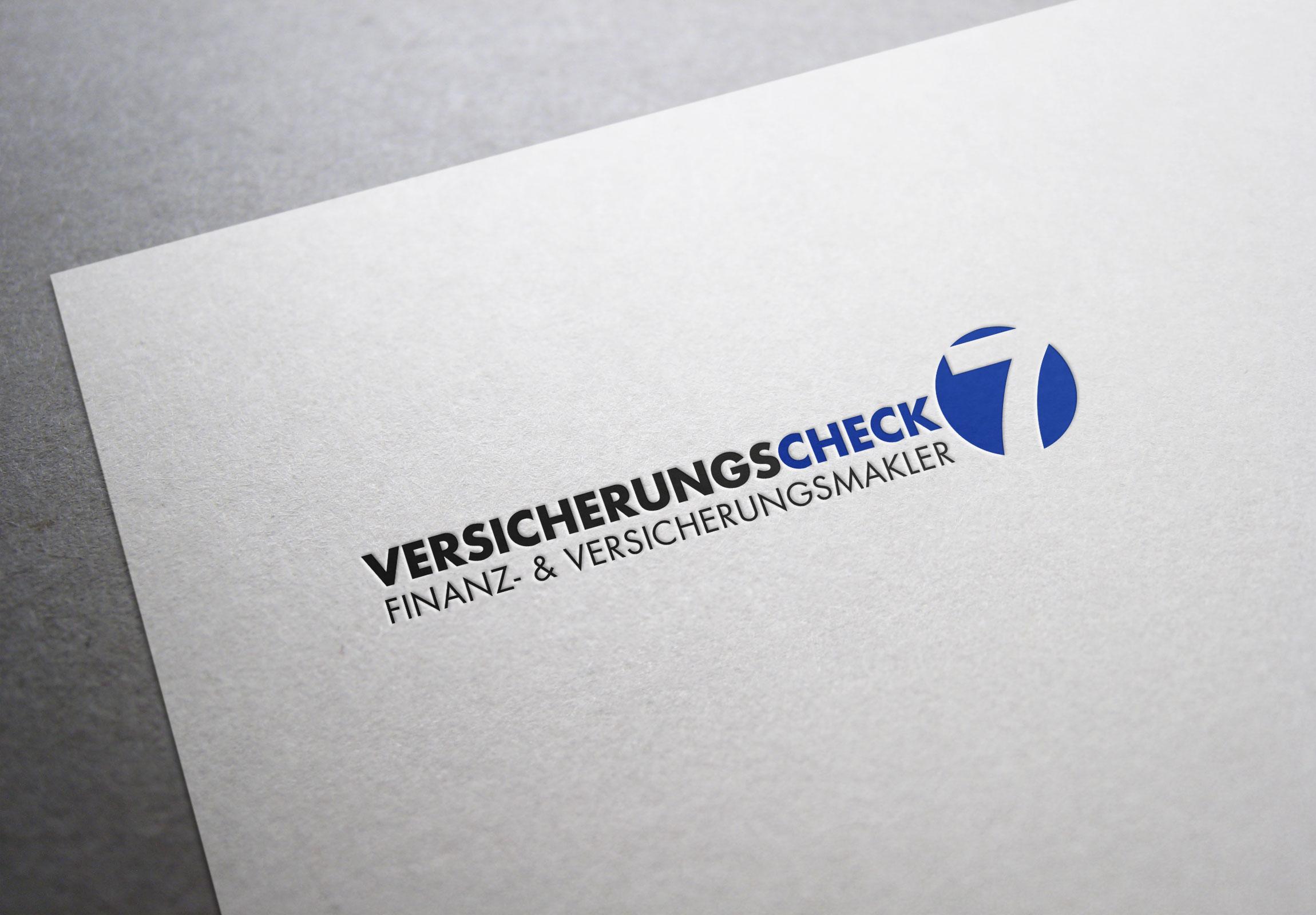 Logodesign Versicherungscheck7