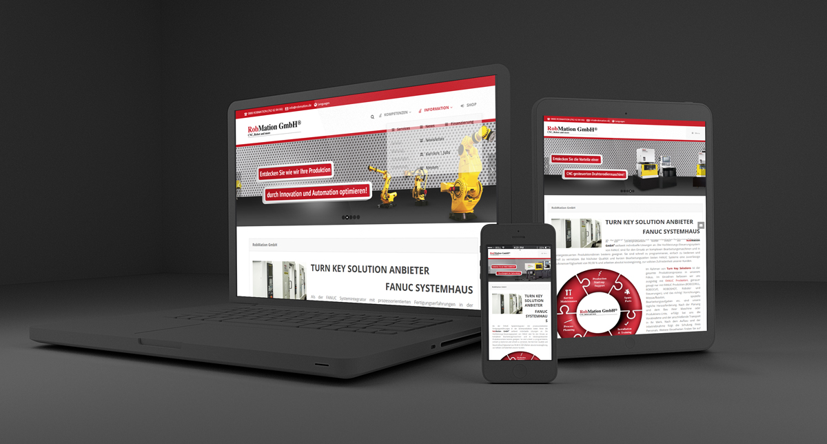 Webdesign/CMS RobMation GmbH